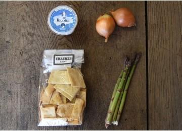 Ricetta: cheesecake agli asparagi