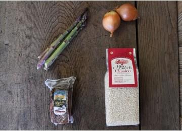 Ricetta: risotto asparagi e speck